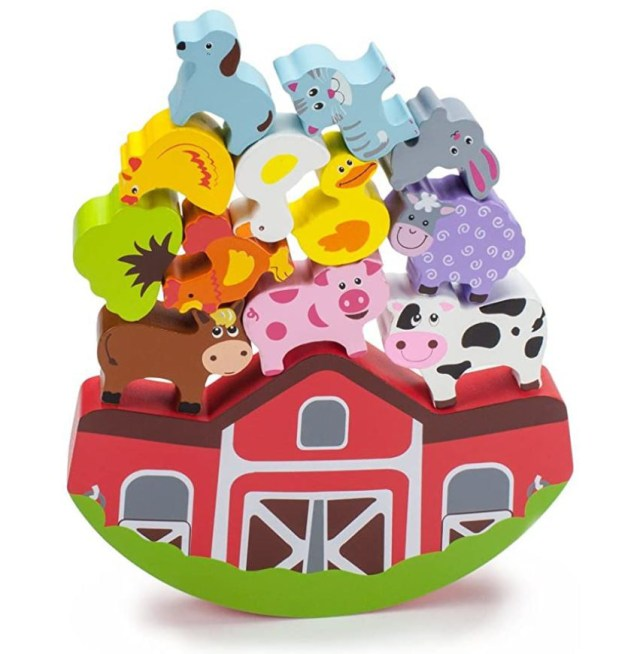 Amazon toy finds stacking farm animal game Christmas gift ideas toy