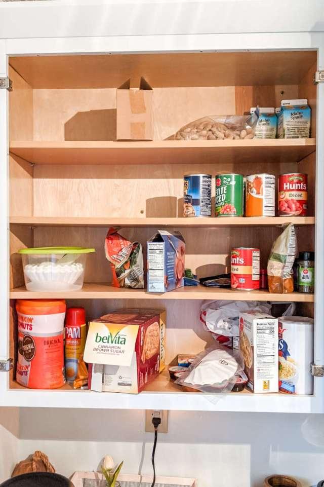 Amazon Finds Kitchen Organization Upper Cabinet Small Bin Pantry Storage Cans
