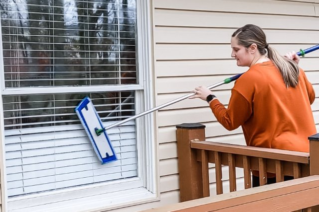 Norwex Superior Mop System Wet Mop pad Window Mop Pad
