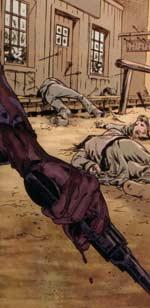 Jonah Hex: Face Full of Violence - bloody gun