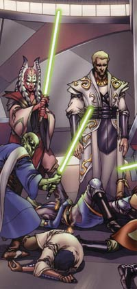 Star Wars: Knights of the Old Republic Volume 1 - Commencement - Jedi masters