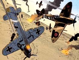 Battler Britton - dogfight
