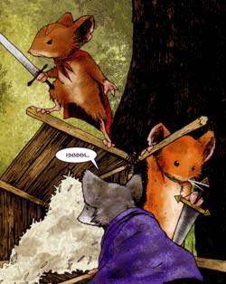 Mouse Guard: Autumn 1152 - Lieam, Kenzie and Saxon