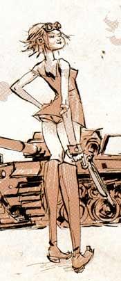 Tank Girl: The Gifting - Tank Girl