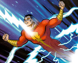 Shazam! The Monster Society of Evil - Captain Marvel