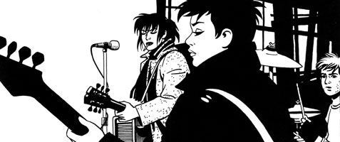 Love and Rockets: The Girl from H.O.P.P.E.R.S. - Hopey and Terry