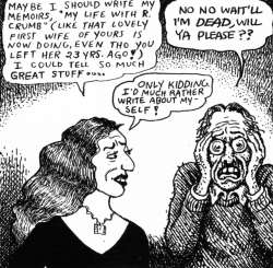 Drawn Together: Aline and Robert Crumb