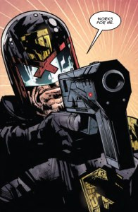 Judge Dredd in Dredd: Final Judgement