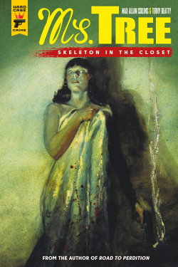 Cover of Ms. Tree: Skeleton in the Closet, by Max Allen Collins and Terry Beatty