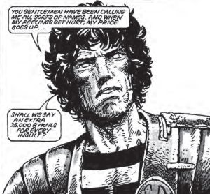 Johnny Alpha in Strontium Dog: Search & Destroy