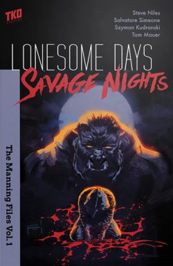 Lonesome Days, Savage Nights cover