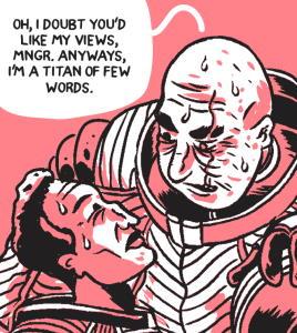 Da Silva and Cyrus in Titan