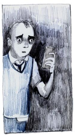 Steve, the bus-driving protagonist of Debbie Jenkinson's Ghosting