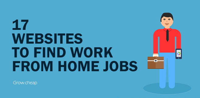 17 Websites To Find Work from Home Jobs in Egypt
