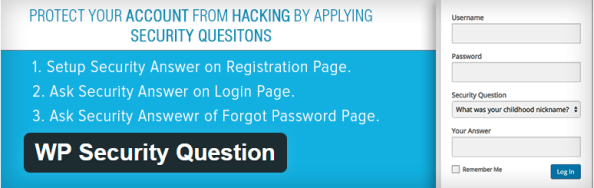 WP Security Question Best WordPress Login Security Plugins