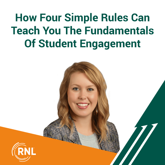 How Four Simple Rules Can Teach You The Fundamentals Of Student Engagement