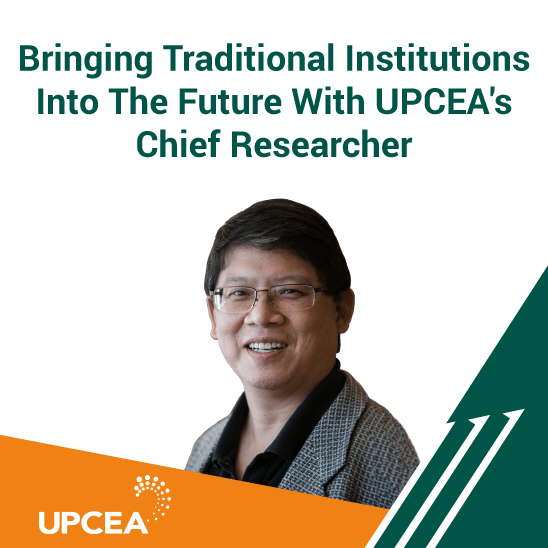Bringing Traditional Institutions Into The Future With UPCEA's Chief Researcher