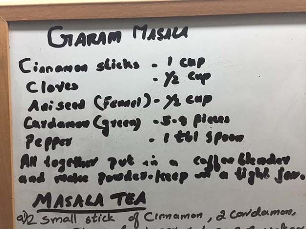 Leila's secret garam masala recipe