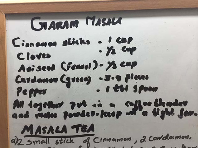 Leila's secret garam masala recipe