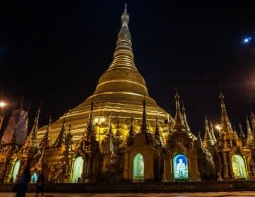 Shwedagon Pagoda, Yangon