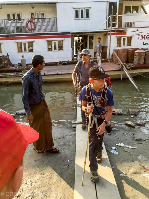 Mandalay ferry jetty