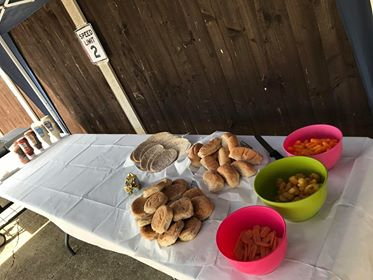 BBQ food table