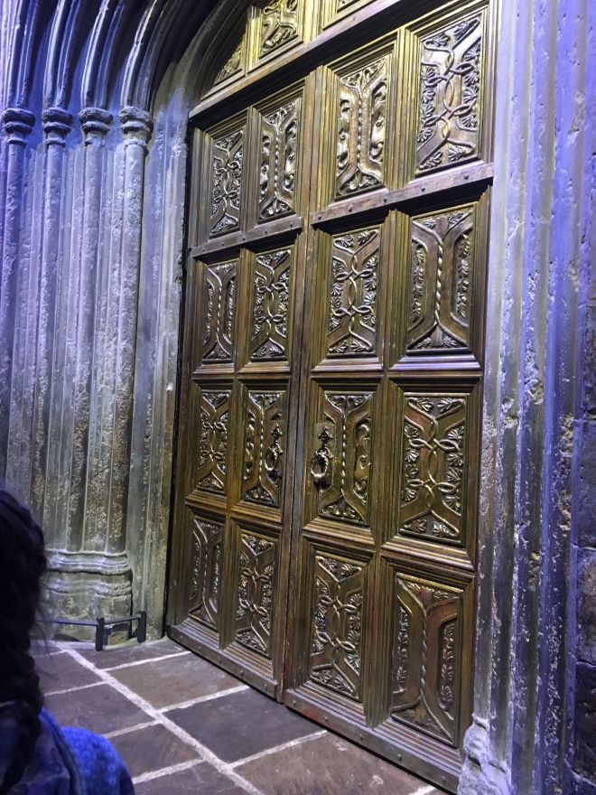 The doors to the great hall.