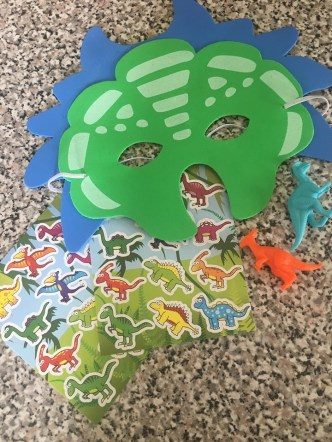 dinosaur themed fillers.