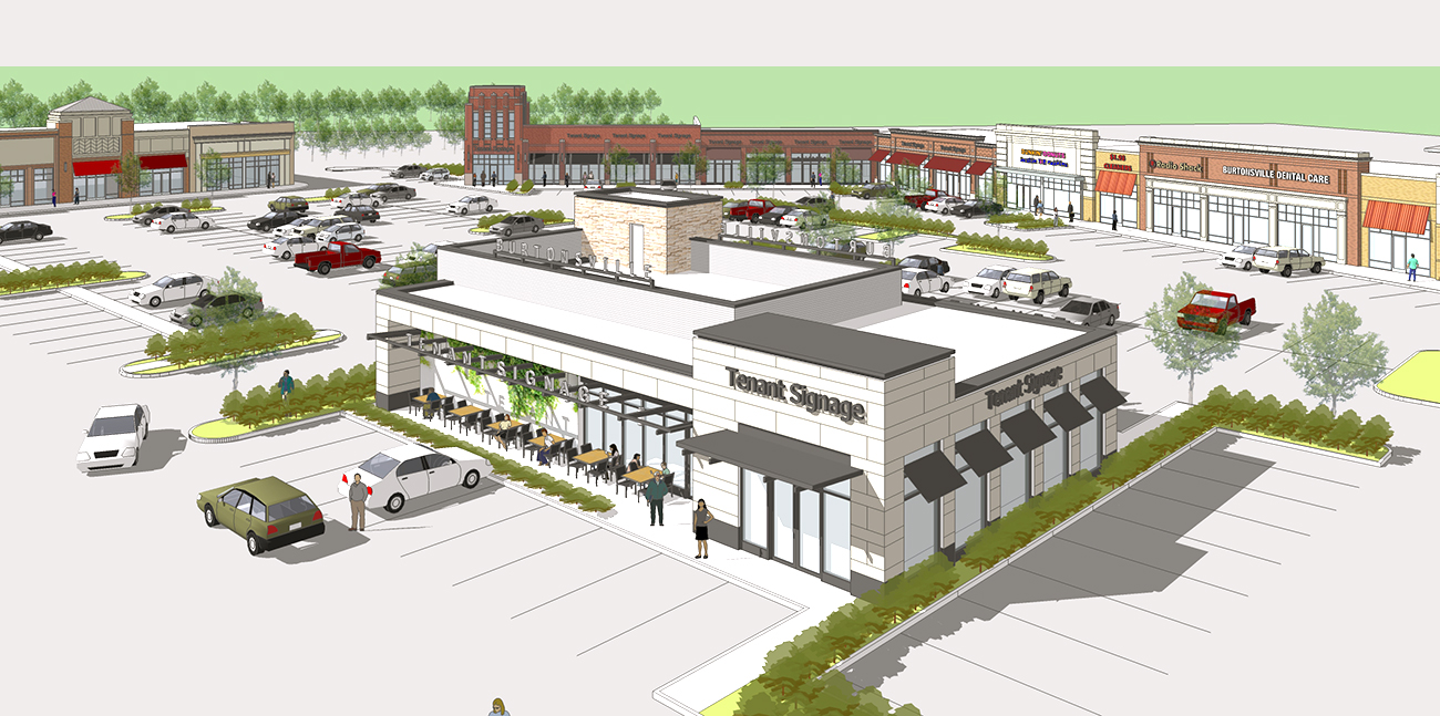meeting to discuss new retail in burtonsville town square growing