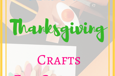 Easy Thanksgiving Day Crafts for Kids