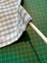 feed-netting-pipe-through-fabric