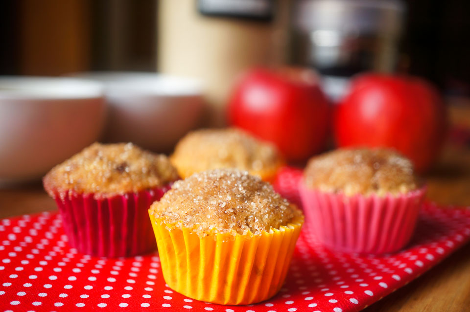 Growing Home - Gluten Free Apple Cinnamon Muffins