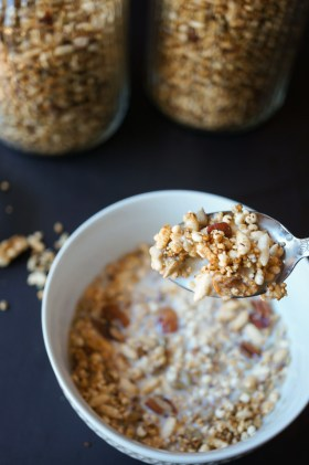 Toasted Muesli | Gluten Free, Low FODMAP | Growing Home