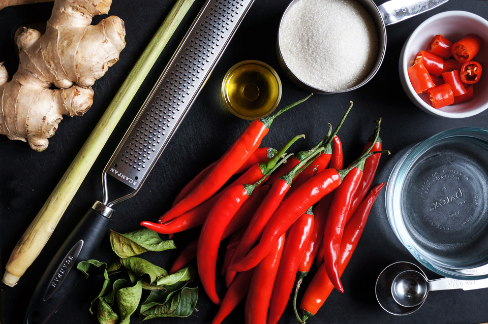 Sweet Chilli + Ginger Sauce | Gluten Free, Low FODMAP | Growing Home