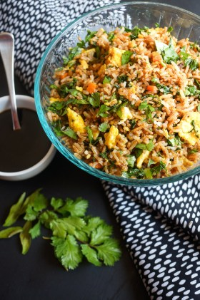 Harvest Fried Rice | Gluten Free, Low FODMAP | Growing Home