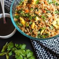 Harvest Fried Rice | Gluten Free, Low FODMAP | Growing Home