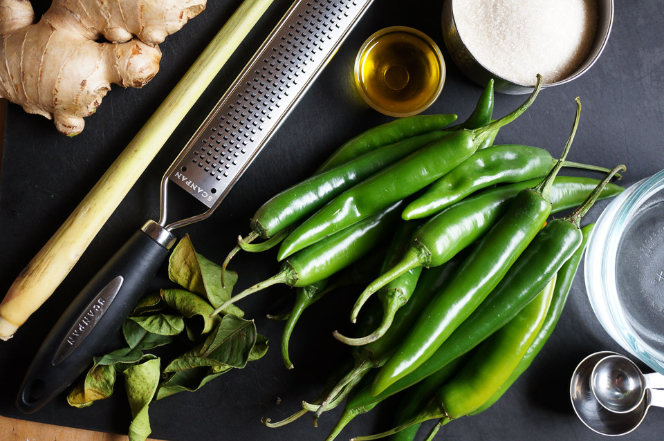 Green Chilli + Lime Sauce | Gluten Free, Low FODMAP | Growing Home