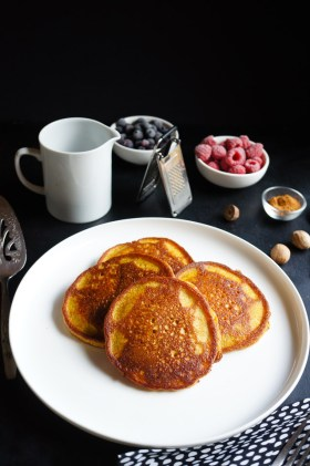 Pumpkin Pancakes | Gluten Free, Low FODMAP | Growing Home