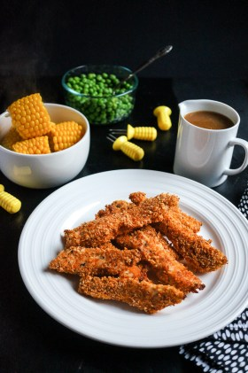 Crunchy Baked Chicken | Gluten Free, Low FODMAP | Growing Home