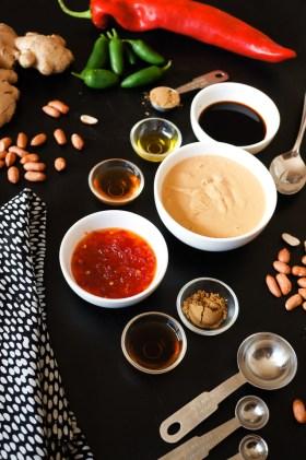 Peanut 'Satay' Sauce | Gluten Free, Low FODMAP | Growing Home