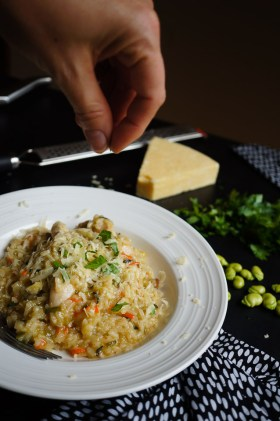 Risotto | Gluten Free, Low FODMAP | Growing Home