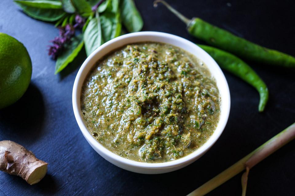Thai Basil Curry Paste | Gluten Free, Low FODMAP | Growing Home