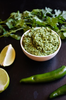 Coriander Pesto | Gluten Free, Low FODMAP | Growing Home