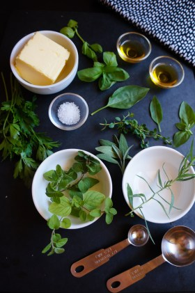 Herb + Garlic Butter | Gluten Free, Low FODMAP | Growing Home