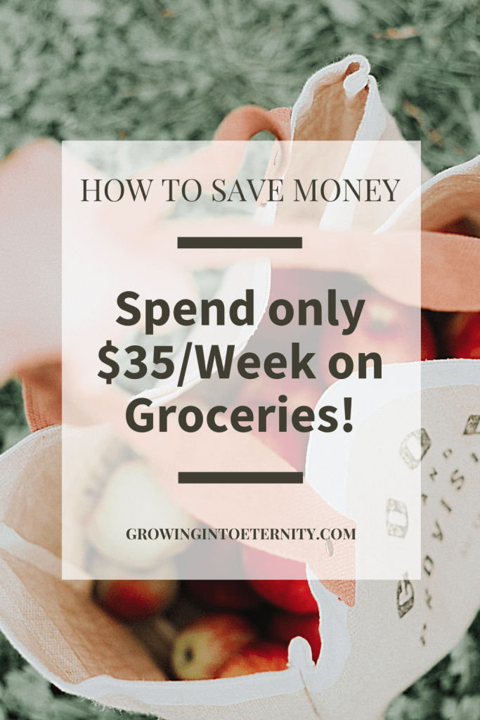 How to Save Money on Groceries: Spend only $35 per week for Two People