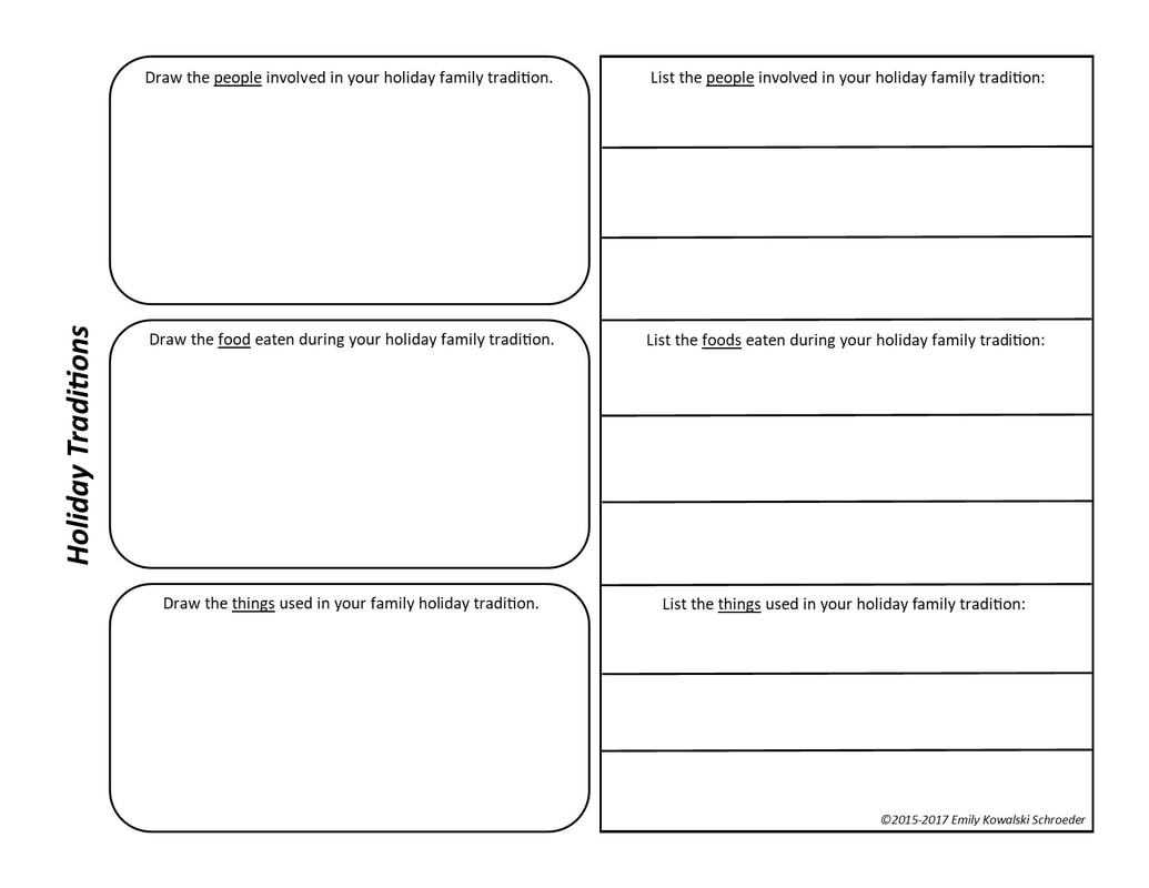 Holiday Matching Worksheet