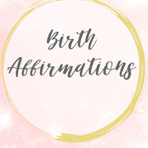Cover of birth affirmation cards
