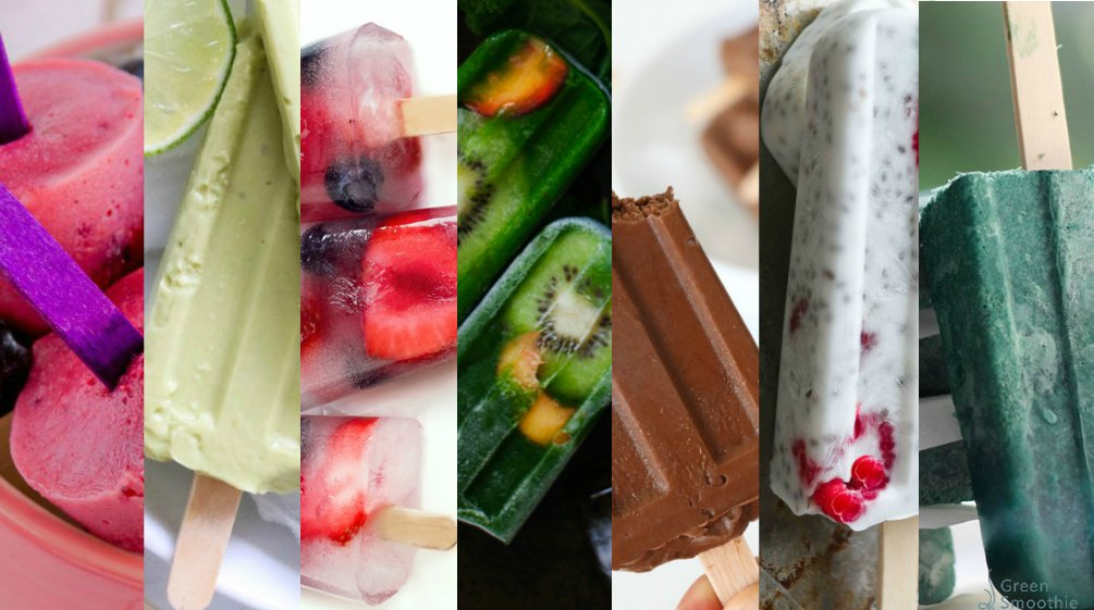 These healthy popsicles for summer are all sugar-free and made with natural super-nutritious ingredients.