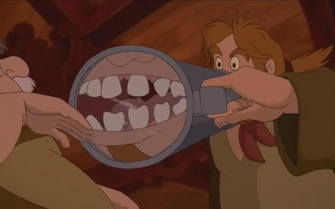 Beauty and the Beast, Minute 29: Sharp Cruel Fangs