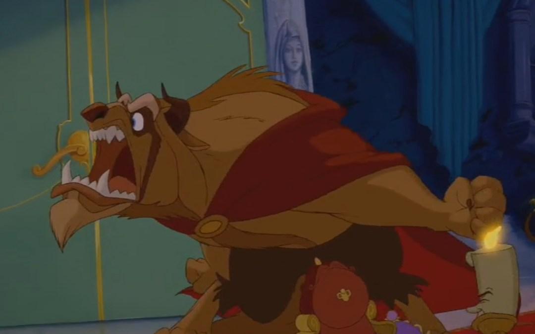 "Beauty and the Beast, Minute 34: ehem hem hem… we say ""Please"""